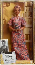 Barbie Signature Inspiring Women Maya Angelou Collector Doll New in Box!