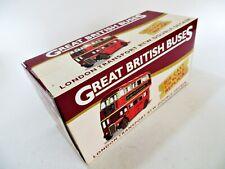 ATLAS GREAT BRITISH BUSES 'LONDON TRANSPORT RTW DOUBLE DECKER' 1:76 MIB/BOXED