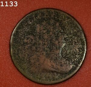 """1804 Draped Bust Half Cent """"AG"""" *Free S/H After 1st Item*"""