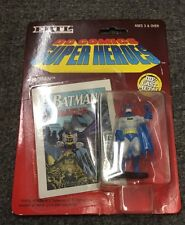 DC Comics Super Heroes Batman Die Cast Metal with Mini Comic Sealed ERTL 1990