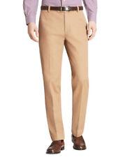 Brooks Brothers Mens Milano Tan Beige Supima Cotton Chino Pants 36W x 30L 5681-5