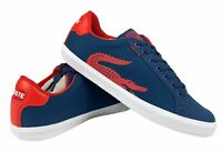 Lacoste Graduate Vulc TSP US Mens Sneakers Dark Blue Red Size 7   7-29SPM00501P4