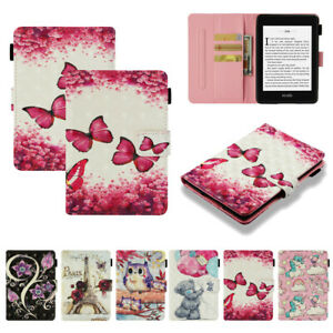NEW Colorful 3D Folio Fold PU Leather Cover SKIN Case for iPad Samsung Amazon