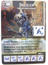 Battle for Faerun DRACOLICH Paragon Undead Dragon #99 rare D&D Dice Masters