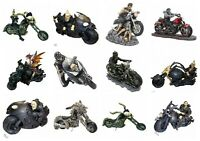 Nemesis Now Skeleton on Motorbike Dragon Hell Rider Biker Ornament Figurine
