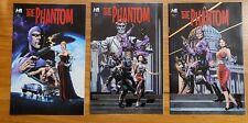 The Phantom President Kennedy's Mission Hermes Press, Covers #1, #1A, and #1B