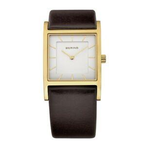 Bering Ladies Watch Wristwatch Slim Classic - 10426-534 Leather