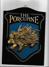 "wooden board 10"" 25 cm Mini Pub Sign bar inn tavern drink Porcupine taven"