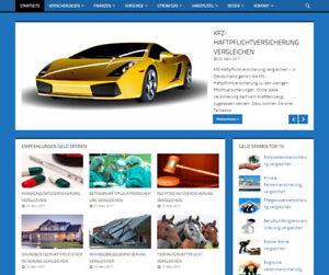 Vergleichsportal, Webprojekt mit 31 Partnerlinks (Check24, Tarifcheck etc.).