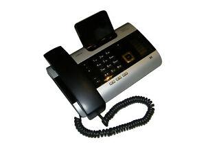 Gigaset DX600 A ISDN Telefon schwarz silber                                 **30