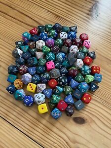 Chessex POD Pound-O-Dice Bag of Loose Assorted Dice - 90 Dice