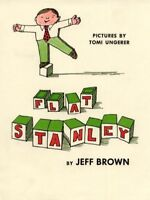 Flat Stanley, Library by Brown, Jeff, Brand New, Free shipping in the US