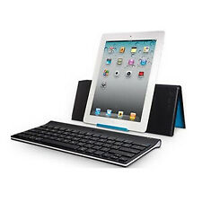 Logitech Tablet Keyboard With Stand for iPad 2, 3/ 4th Generation, and iPad M...