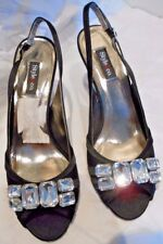 Women's Dress Shoes  Style and Co  Black with Rhinestone decoration  7.5 M