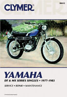 Clymer Repair Manual Yamaha DT and MX Series Singles 1977-1983 M412 70-0412