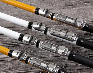 3pcs Fishing Rod Reel Seat Fly Spining Front Wheel Adapter Steel Sea Ice Fishing