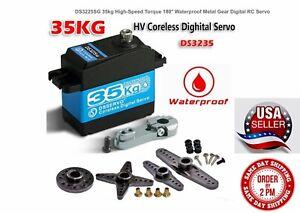 DS3235SG Digital Coreless Metal 35kg Servo Waterproof High Speed High Torque