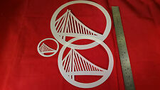 YOUTH ADULT T SHIRT HAT AIRBRUSH STENCILS BASKETBALL OAKLAND SET OF 4 FREE SHIP!