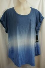1X WOMENS A.N.A. MATERNITY TEE SHIRT TOP RUCHED SIDES NWT! $26