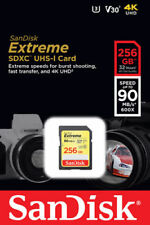 Unbranded 256GB SDXC Mobile Phone Memory Cards