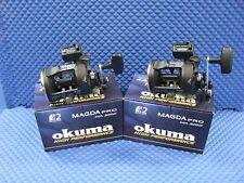 Okuma Magda Pro MA 20DX Line Counter Trolling Reels 2 PACK
