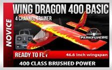 Wing Dragon 400 Basic RTF Beginner RC Airplane 4 Channel Novice Trainer