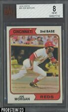 1974 Topps #85 Joe Morgan Cincinnati Reds HOF 8 NM-MT