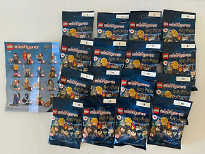 Lego Minifigures 71028 Harry Potter Series 2 competed 16 Full sets all brand new
