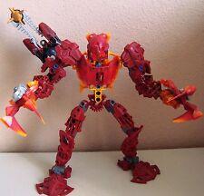 LEGO BIONICLE GLATORIAN 8979 MALUM CUSTOM W/ EXTRA PARTS + MANUAL