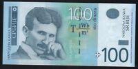 Details about  NIKOLA TESLA - PAPER MONEY - SERBIA 2013- 100 DINARA - BANKNOTE