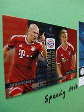 Champions League Double Trouble Robben Götze München  Panini Adrenalyn 13 14