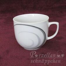 Kaffeetasse Heinrich Winterling graues Dekor