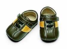 SEE KAI RUN SMALLER TERRANCE Boy Velcro Crib Soft Sole 6-9 M NIB Christmas