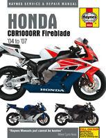 Honda CBR1000RR CBR1000 Fireblade 2004-2007 Haynes Manual 4604