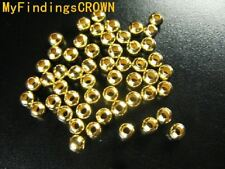 5000 Pcs Gold plated metal spacer beads 2mm #10247