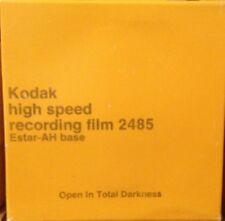 KODAK 35mm x 150ft 2485 B&W BULK HIGH SPEED FILM ROLL BLACK & WHITE FREEZER KEPT
