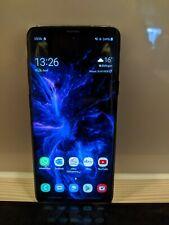 Samsung Galaxy S9+ Duos SM-G965F - 64GB - Midnight Black/Coral Blue Dual SIM