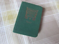 1931 BUSSEY Cricketers CRICKET Diary & Companian with HARDBACK Bindings