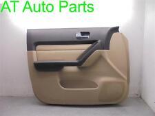 06-10 HUMMER H3 MILEAGE 68K DRIVER LEFT FRONT INTERIOR DOOR PANEL TAN OEM 37386