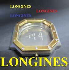 cassa orologio longines 950 NOS case watch old for parts stainless steel vintage