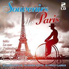 SOUVENIRS DE PARIS-50 GROßE ERFOLGE 2 CD NEW+