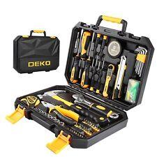 100 Pcs Home Repair Tool Set General Household Hand Tool Kit W Plastic Tool Box