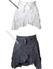 Short/Mini Cotton Regular Size Asymmetrical Skirts for Women