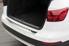 Protezione paraurti per Audi A4 B9 Avant Allroad 2016-2018 acciaio Argento