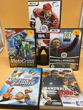 PC Spiel ** 5 Sport Games  NHL 08, Virtua Tennis3,Handball Man. 08, Fussball M..