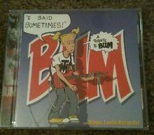 I Said Sometimes: Tribute To BUM (26 tracks / 2002 / LISA MARR / MACH PELICAN /