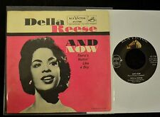 PICTURE SLEEVE Della Reese RCA 7784 And Now and There's Nothing Like A Boy
