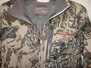 Sitka Men's Optifade Gore Windstopper Hooded Hunting Jacket Medium