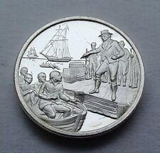 Franklin Mint Sterling Silver Mini-Ingot: 1808 Importation of Slaves Prohibited