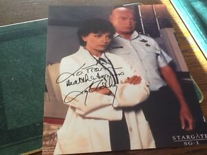 """Teryl Rothery Stargate genuine signed autographs photo. Never displayed. 8"""" X 10"""